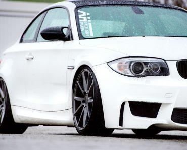 BMW 1M on Vossen Wheels  (12)