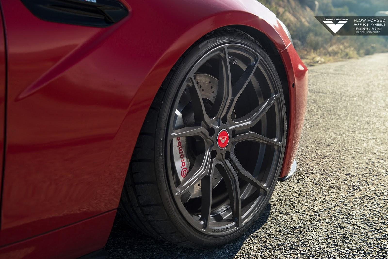 BMW M6 with 21-inch Carbon Graphite Alloys by Vorsteiner (11)