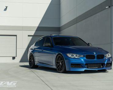 F30 BMW 3-Series Sits on HRE Wheels (1)