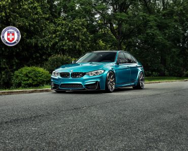 BMW M3 in Atlantis Blue  (1)