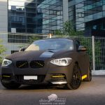 Matte Black BMW M135i by DCM Design  (5)