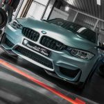 Satin Battleship Grey BMW M4  (3)
