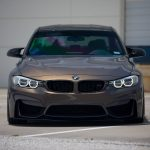 F80 BMW M3on Vossen Wheels (2)