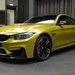 Austin Yellow F8 BMW M4 in Abu Dhabi (1)