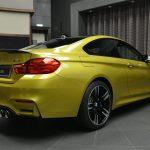 Austin Yellow F8 BMW M4 in Abu Dhabi (12)