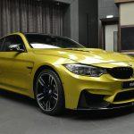 Austin Yellow F8 BMW M4 in Abu Dhabi (3)