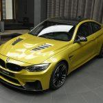 Austin Yellow F8 BMW M4 in Abu Dhabi (4)