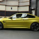 Austin Yellow F8 BMW M4 in Abu Dhabi (5)