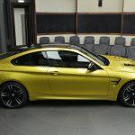 Austin Yellow F8 BMW M4 in Abu Dhabi (7)
