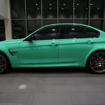 Mint Green F80 BMW M3 with M Performance (1)