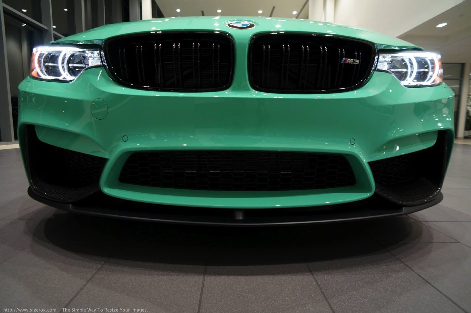 Mint Green F80 BMW M3 with M Performance (32)