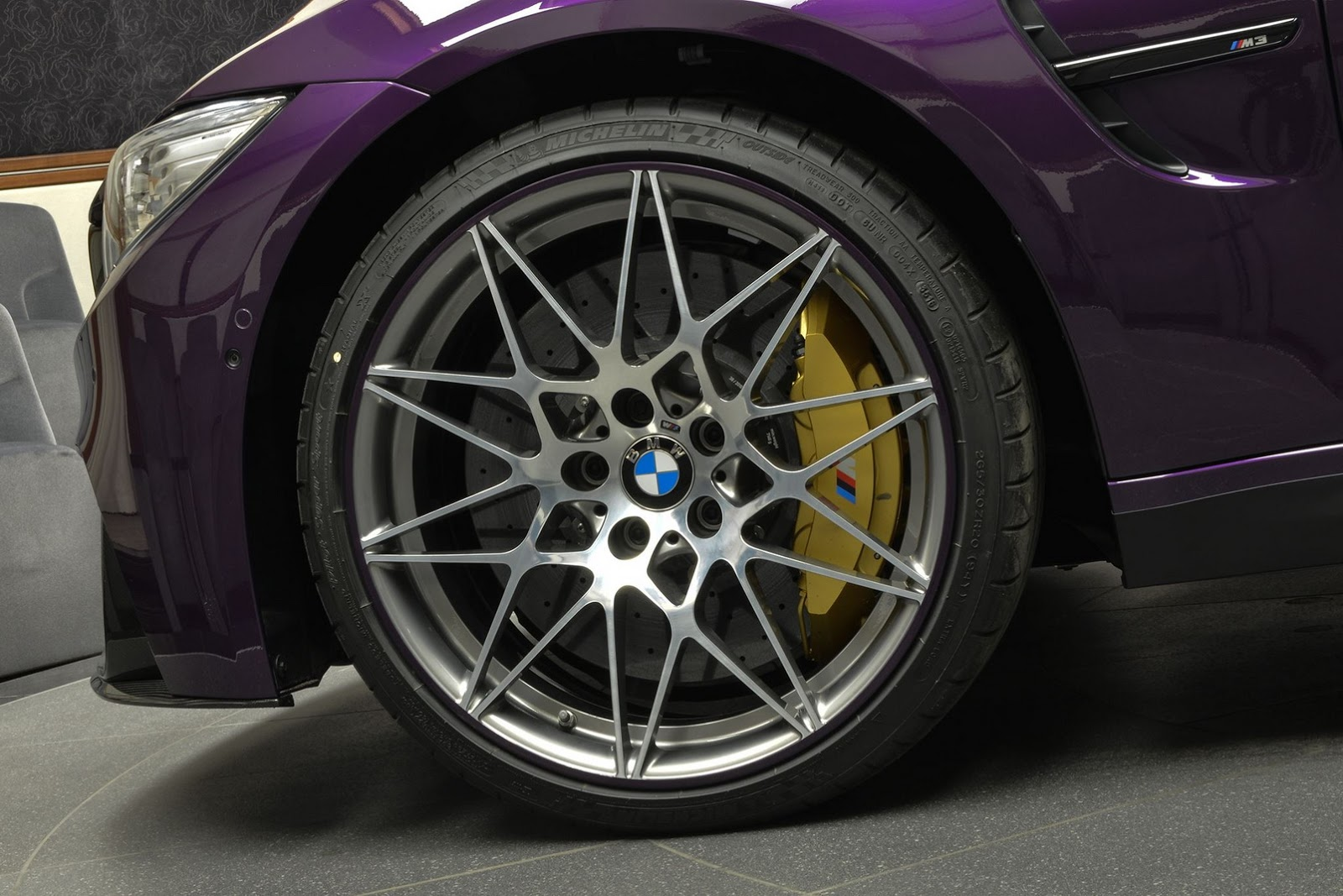 Twilight Purple BMW M3 with Competition Package (7)