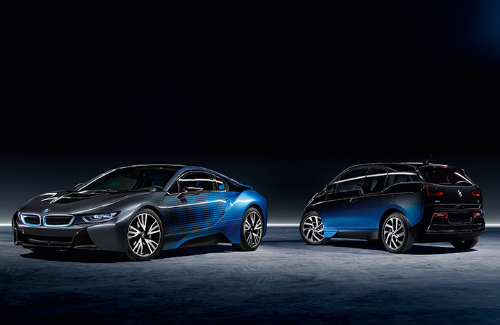 BMW i8 & i3 CrossFade Garage Italia Customs