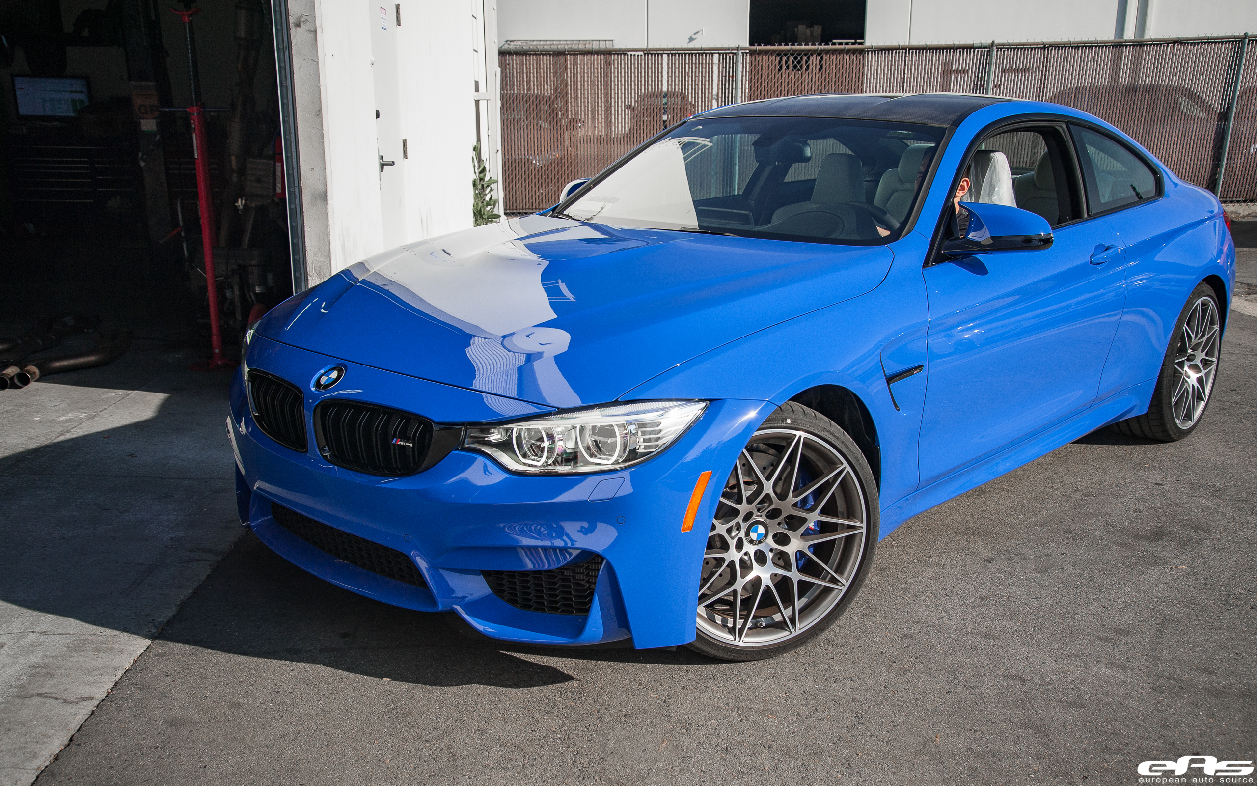 F82 BMW M4 with M Goodies and HRE Wheels (2)