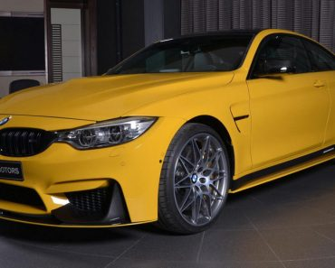 Yellow F82 BMW M4 Individual (22)