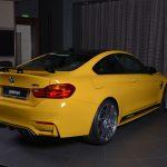 Yellow F82 BMW M4 Individual (4)