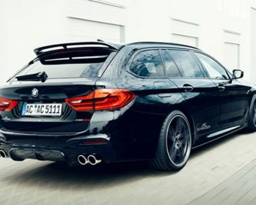 2018 BMW 5-Series with Full Body Kit and Performance Upgrades by AC Schnitzer