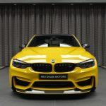 BMW M3 with M4 GTS-like Body Kit (1)