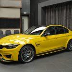 BMW M3 with M4 GTS-like Body Kit (2)