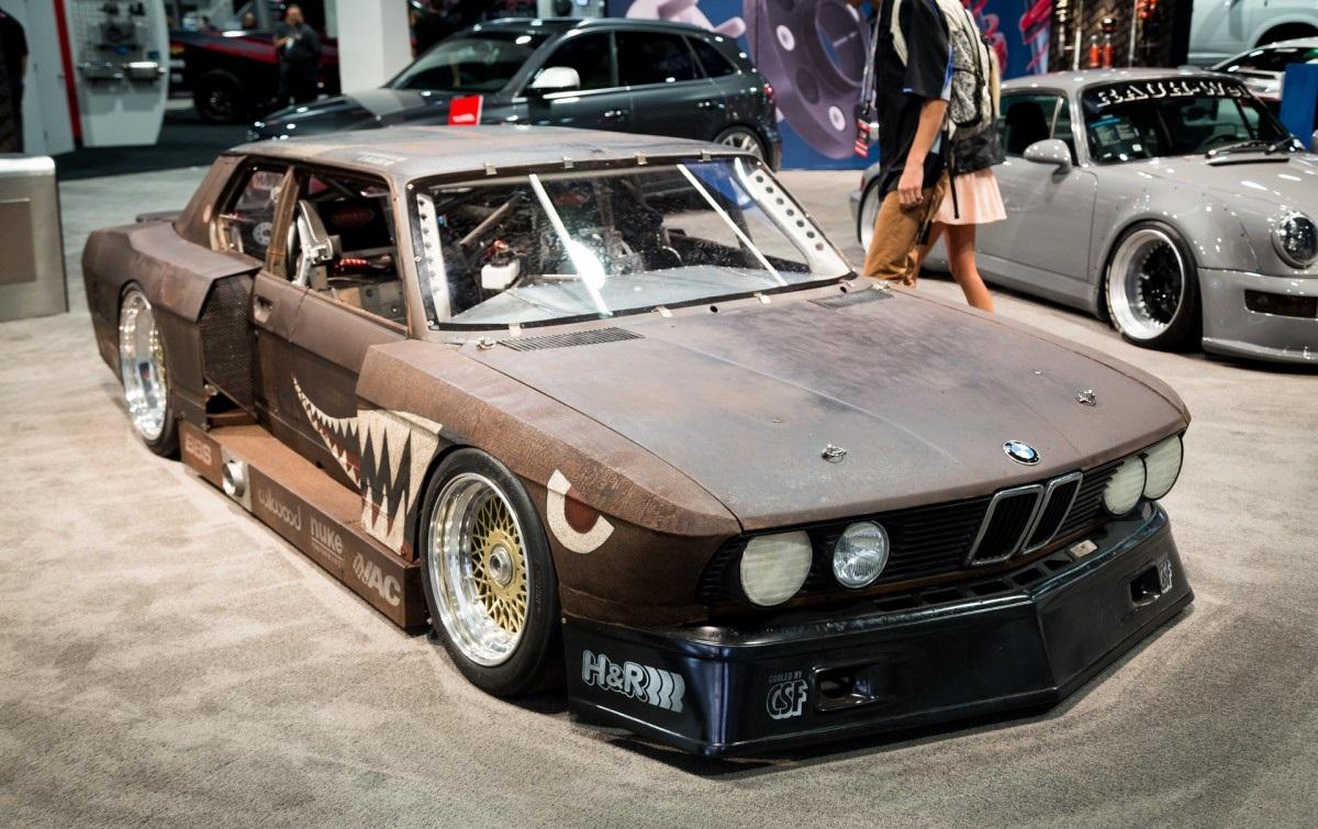 "BMW 5 Series E28 ""Rusty Slammington"""