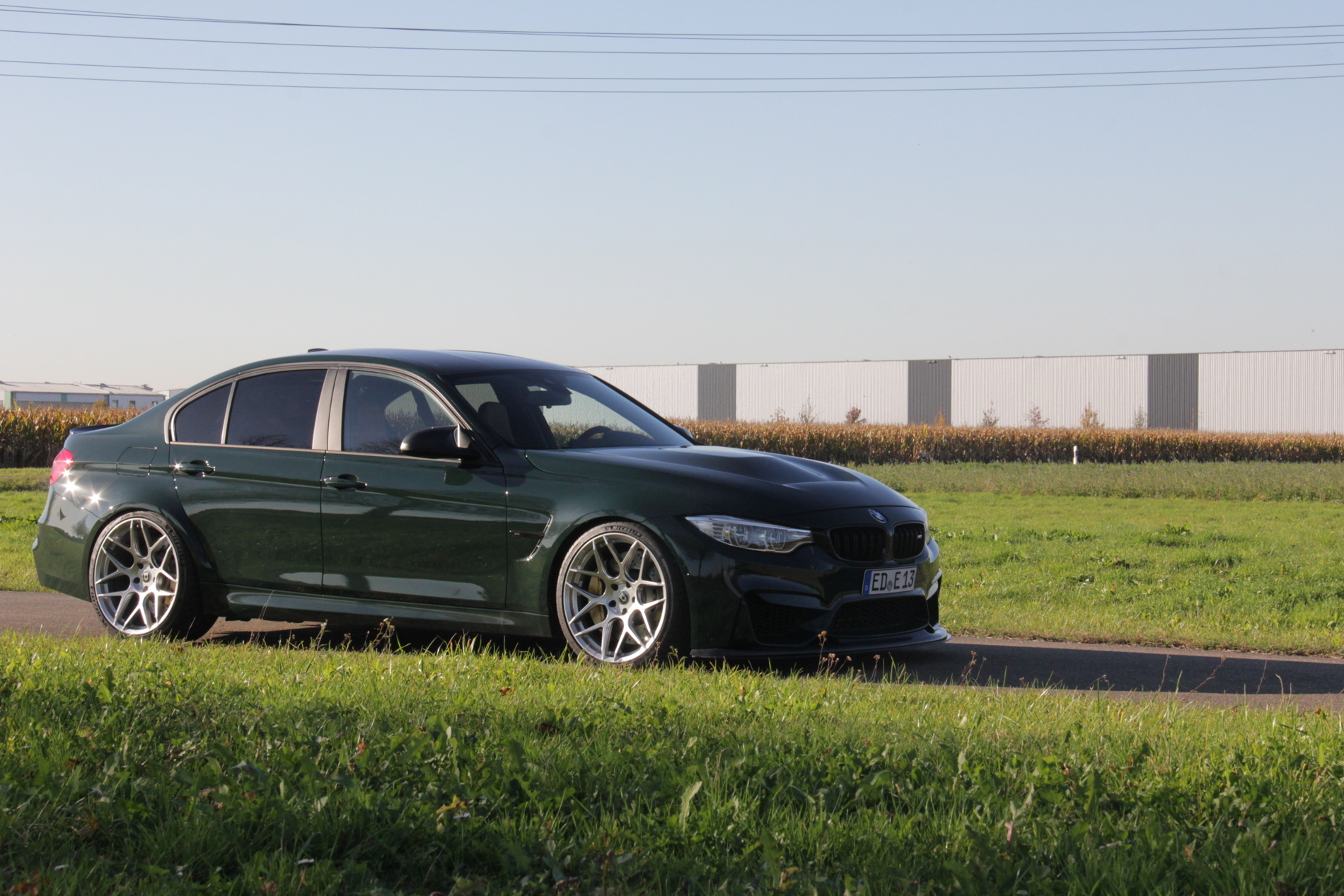 Green BMW M3-GT F80 by Laptime-Performance