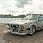 A classic restored BMW M635CSi