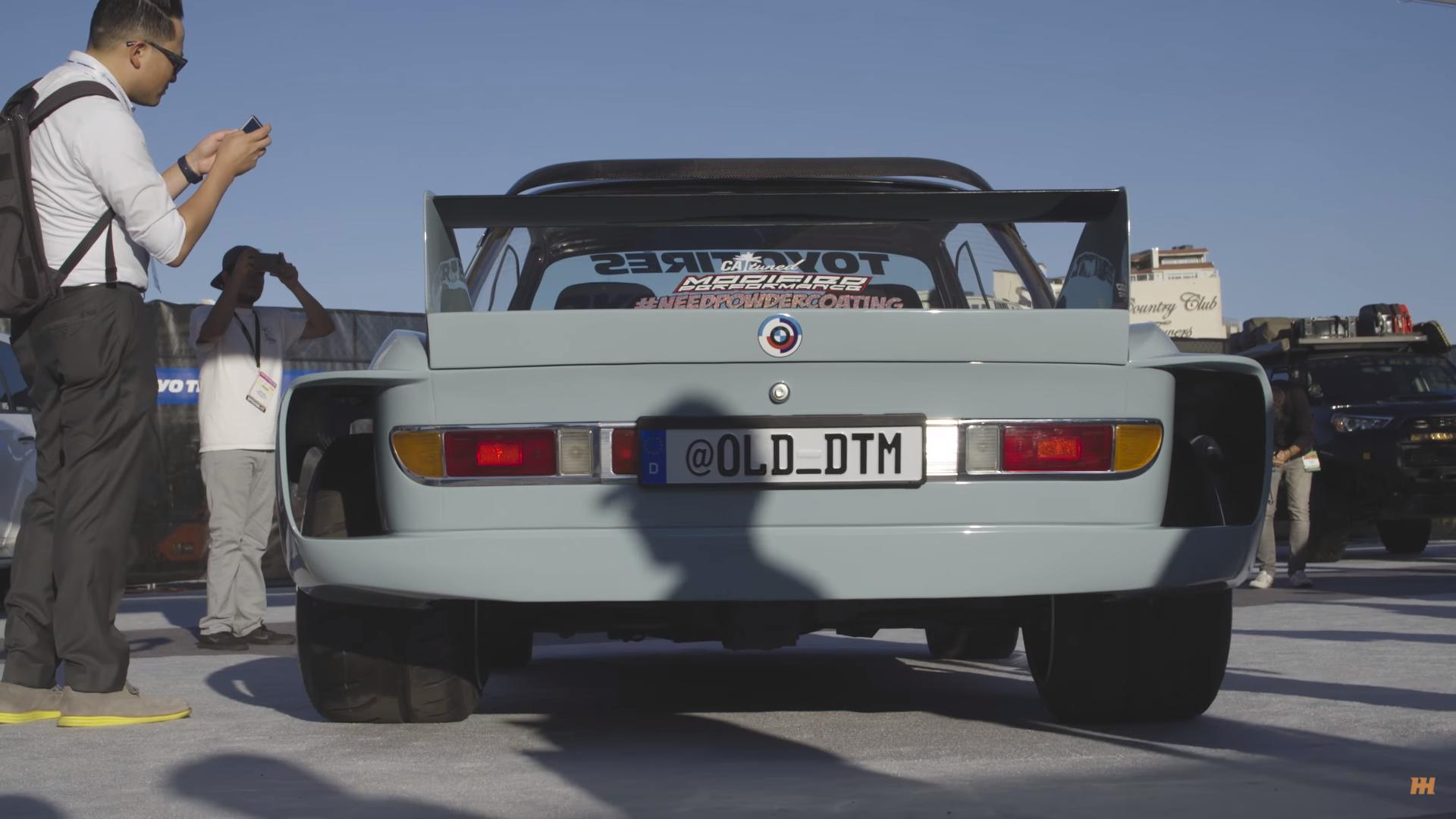 BMW E9 3.0 CS is the best Euro Car at SEMA