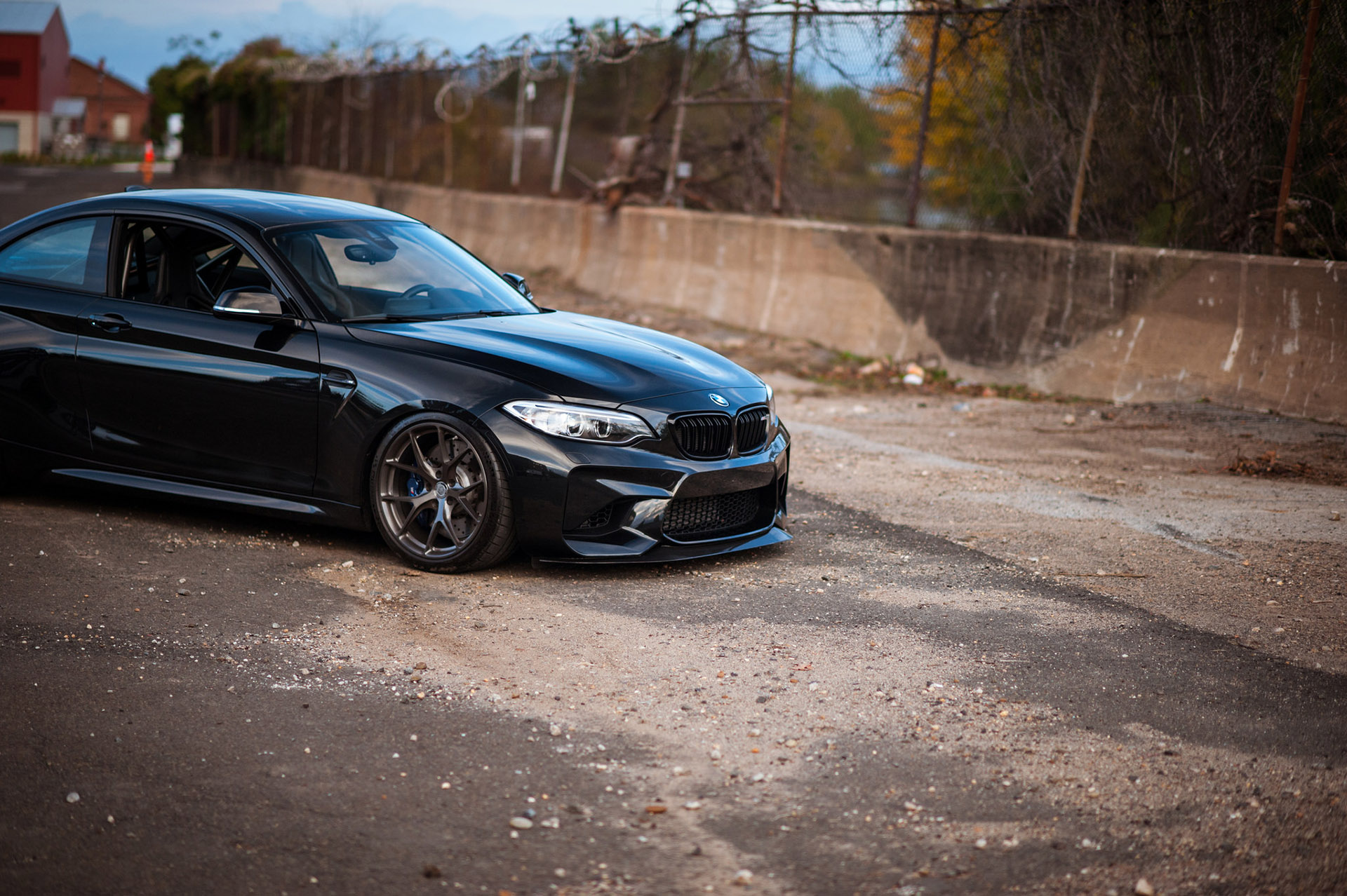 BMW M2 Coupe with HRE Wheels and Carbon Fiber Aero Kit (11)