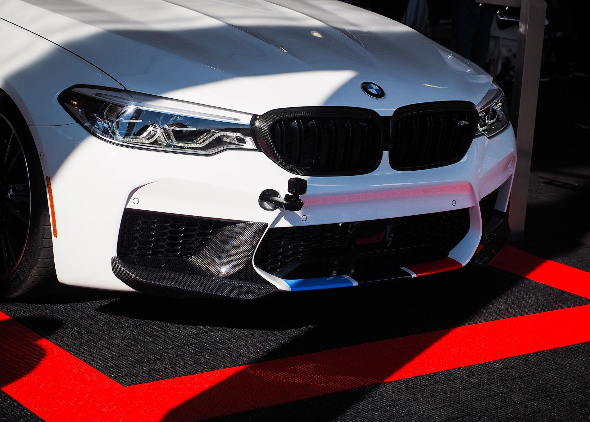 BMW M5 F90 with M Performance Parts