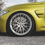 F80 BMW M3 in Austin Yellow and HRE Wheels (5)