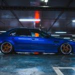 Redefined Dark Blue BMW M5 E39