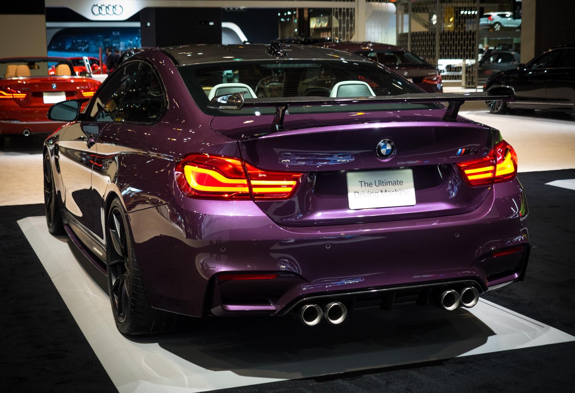 Purple Silk BMW M4 with M Performance Parts