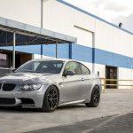 Space Gray E92 BMW M3 with Vorsteiner Wheels (11)