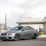 Space Gray E92 BMW M3 with Vorsteiner Wheels (18)