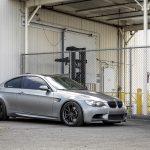 Space Gray E92 BMW M3 with Vorsteiner Wheels (21)