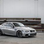Space Gray E92 BMW M3 with Vorsteiner Wheels (28)