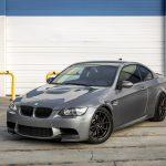 Space Gray E92 BMW M3 with Vorsteiner Wheels (34)