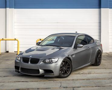 Space Gray E92 BMW M3 with Vorsteiner Wheels (34)
