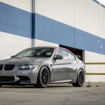 Space Gray E92 BMW M3 with Vorsteiner Wheels (35)