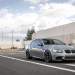 Space Gray E92 BMW M3 with Vorsteiner Wheels (5)