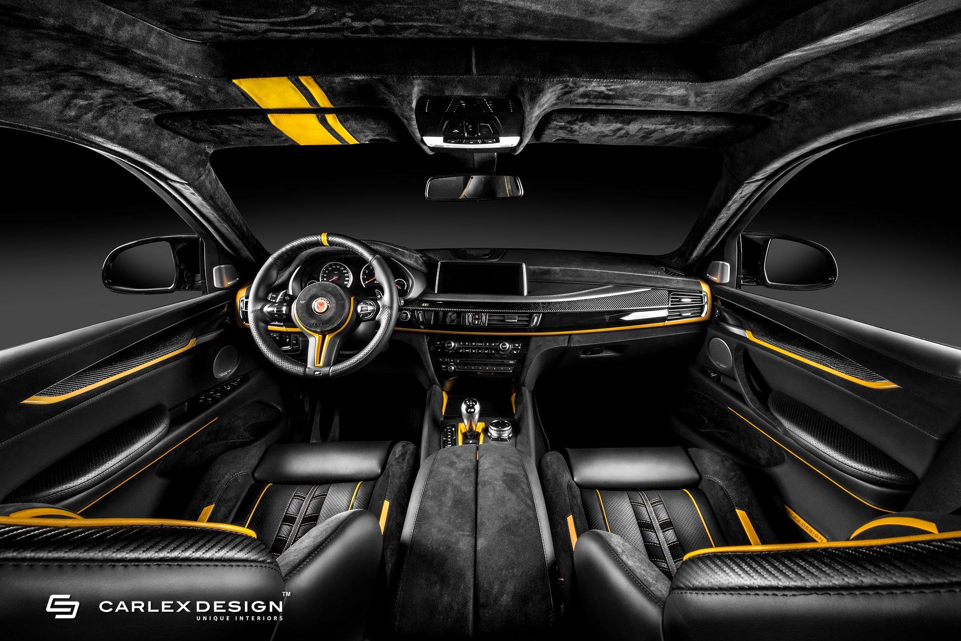 BMW X6M by Manhart and Carlex Design