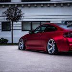 Satin Red BMW M4