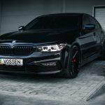 Carbon Black Metallic G30 BMW 5-Series with Vossen Wheels (15)