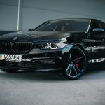 Carbon Black Metallic G30 BMW 5-Series with Vossen Wheels (5)