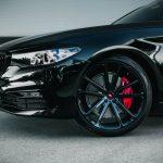 Carbon Black Metallic G30 BMW 5-Series with Vossen Wheels (6)
