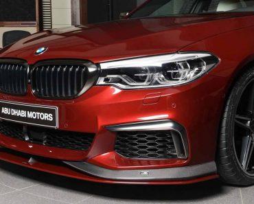 Aventurini Red BMW M550i xDrive by AC Schnitzer (9)