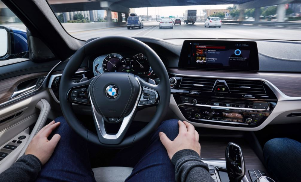Driving A BMW