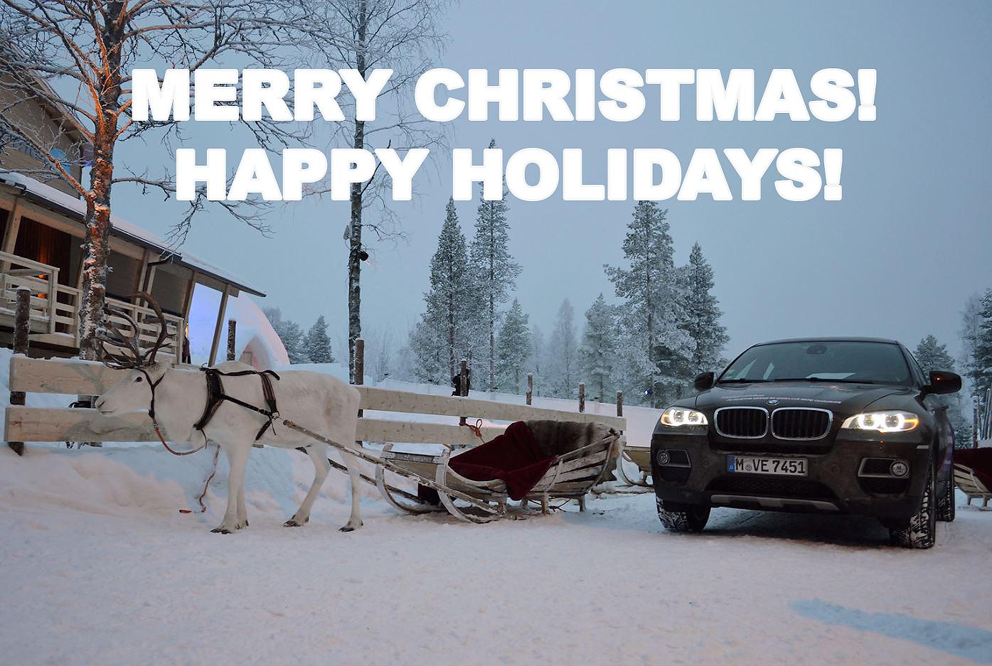 BMW Santa Claus, Xmas