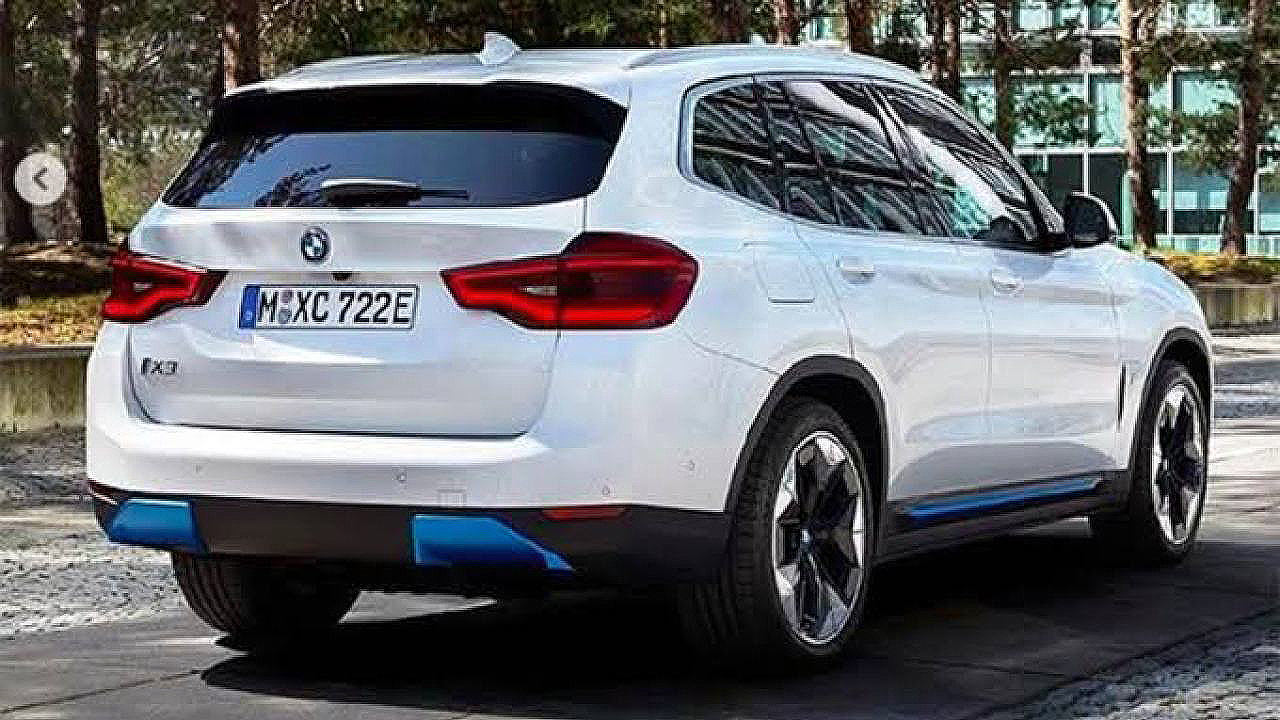BMW iX3 (Rear)
