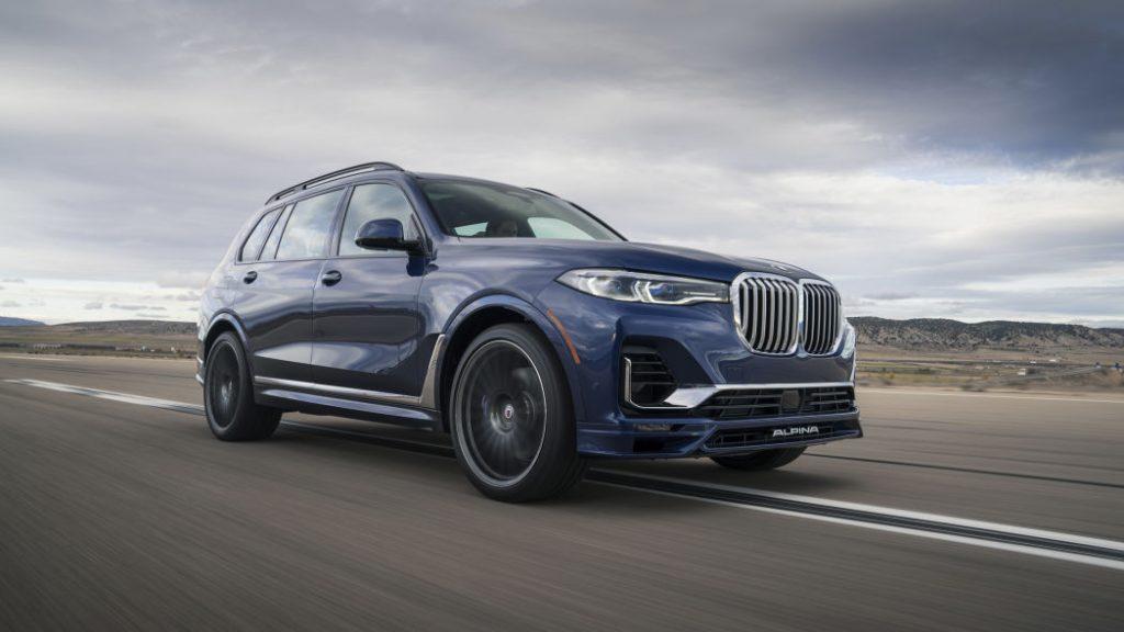 2020 BMW ALPINA XB7 - Press